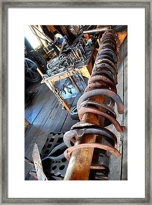 Horseshoe Framed Print by Sergey  Nassyrov