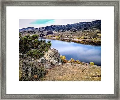 Horsetooth Autumn Framed Print by Jon Burch Photography