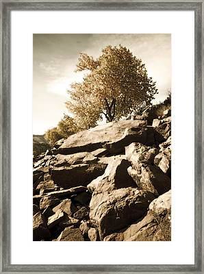 Horsetooth Reservoir 3 Framed Print
