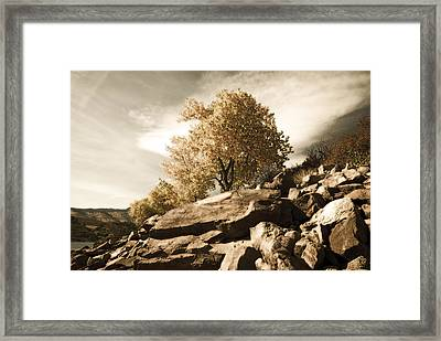 Horsetooth Reservoir 4 Framed Print by Matthew Angelo