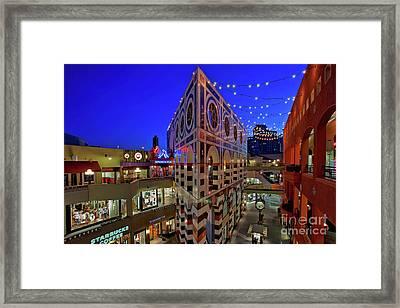 Horton Plaza Shopping Center Framed Print by Sam Antonio Photography