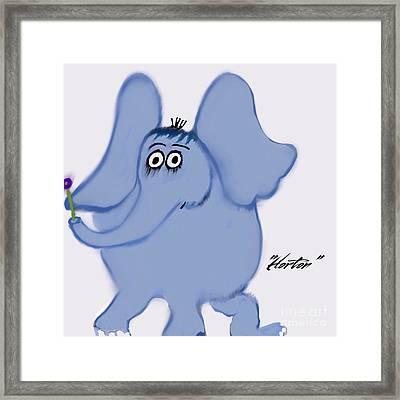 Horton Framed Print by Susan Garren