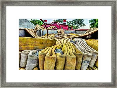 Hoses Framed Print by JC Findley