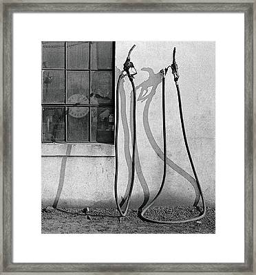 Hoses Framed Print by Peter J Sucy