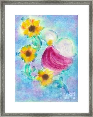 Hospice Angel Framed Print