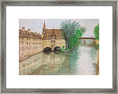 Hospice Of The Holy Spirit Framed Print