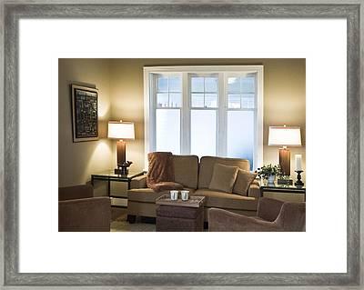 Hospice Quinte Meeting Room B Framed Print by Michael Rutland