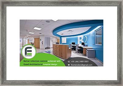 Hospital Consulting Firm In Chennai Framed Print