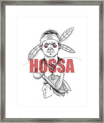 Hossa Framed Print by Adam Campbell