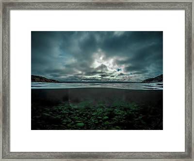 Hostsaga - Autumn Tale Framed Print by Nicklas Gustafsson