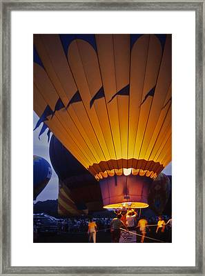 Hot Air Balloon - 10 Framed Print by Randy Muir