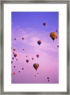 Hot Air Balloon - 13 Framed Print
