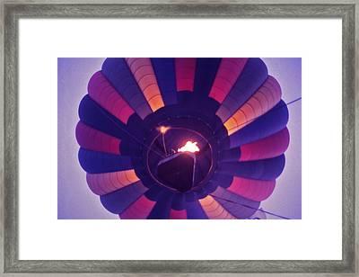 Hot Air Balloon - 7 Framed Print by Randy Muir