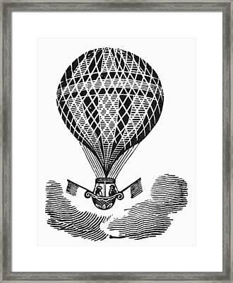 Hot Air Balloon Framed Print by Granger