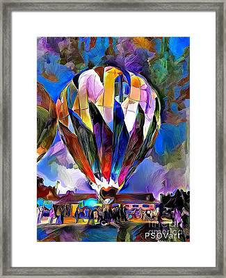 Hot Air Balloons 1 Framed Print