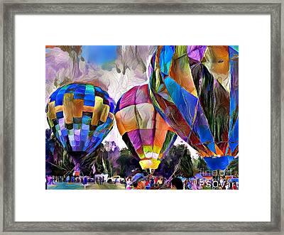 Hot Air Balloons 2 Framed Print