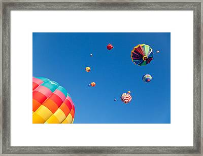 Hot Air Balloons 9 Framed Print
