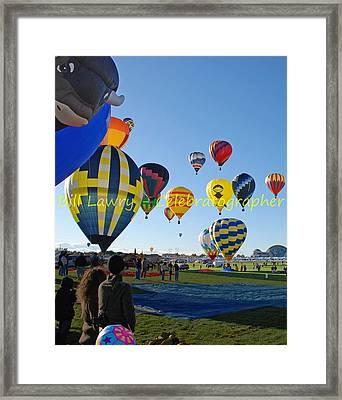 Hot Air Rising II Framed Print by Bill Lawry - Celebratographer