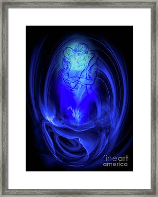Hot And Cold Framed Print by Walter Zettl