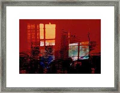 Hot And Cool Framed Print