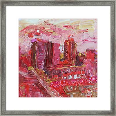 Hot And Steamy Framed Print by Robert Yaeger