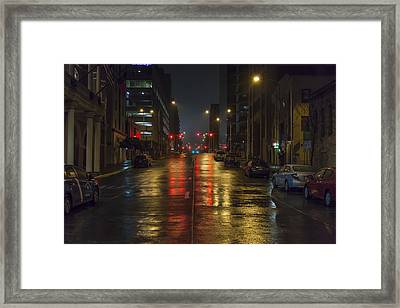 Hot Austin Framed Print