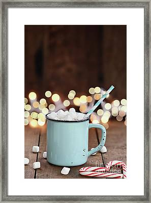 Hot Cocoa With Mini Marshmallows Framed Print
