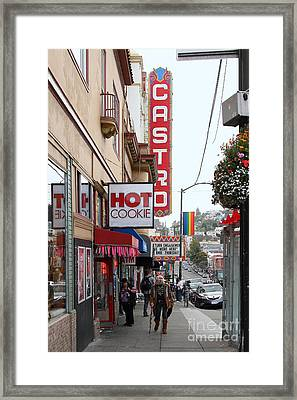 Hot Cookie At The Castro Theater In San Francisco . 7d7607 Framed Print