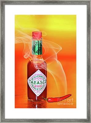 Hot Cravings By Kaye Menner Framed Print by Kaye Menner