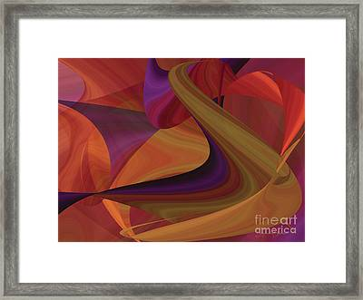 Hot Curvelicious Framed Print