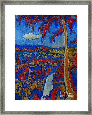 Hot Day And Cool River Framed Print by Andrey Soldatenko