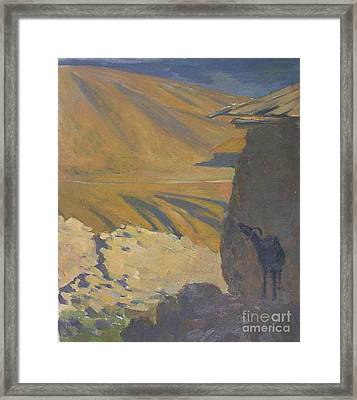 Hot Day. Etude Framed Print by Andrey Soldatenko