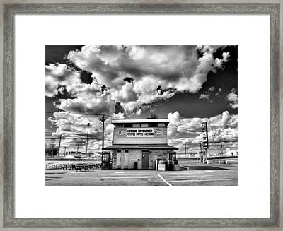 Hot Dog Hamburger Frites Michigan Framed Print