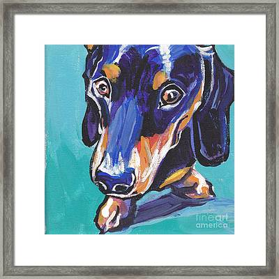 Hot Dox With Relish Framed Print