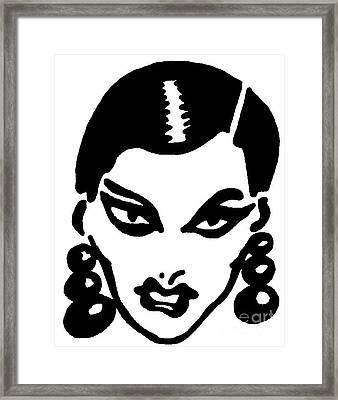 Hot Girl Framed Print by Capegi  Gallerie