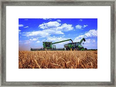Hot Harvest Framed Print