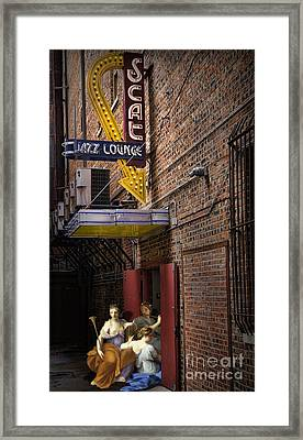Hot Jazz Tonight Framed Print