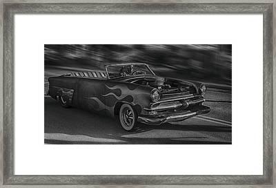 Hot Led Lead Framed Print