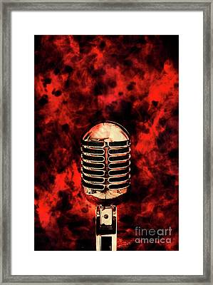 Hot Live Show Framed Print by Jorgo Photography - Wall Art Gallery