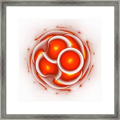 Hot Love Framed Print