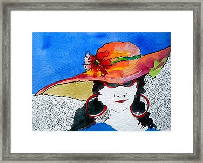 Hot Mama Framed Print by Jane Ferguson