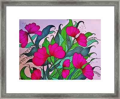 Hot Pink  Framed Print