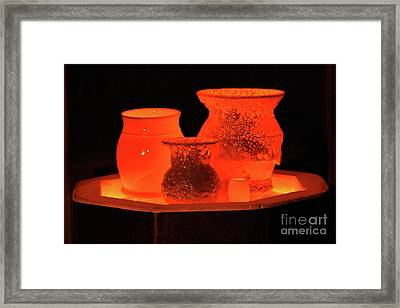 Hot Pots Framed Print by Skip Willits