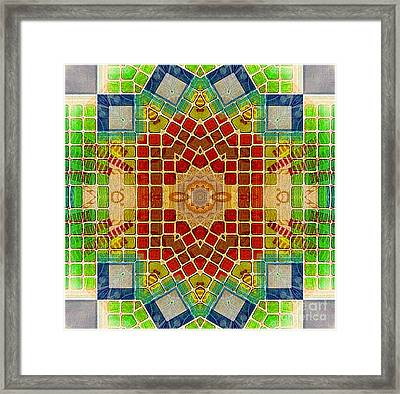 Hot Rhythm Framed Print