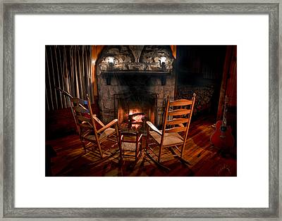 Hot Rockers Framed Print