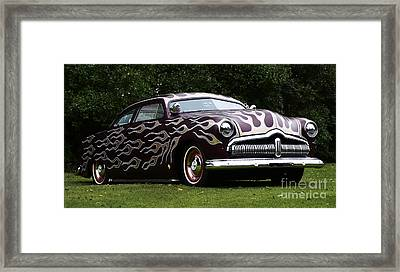 Hot Rod Beauty Of Design 1 Framed Print by Bob Christopher
