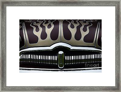 Hot Rod Beauty Of Design 3 Framed Print by Bob Christopher