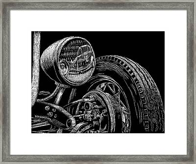 Hot Rod Bob Framed Print by Bomonster