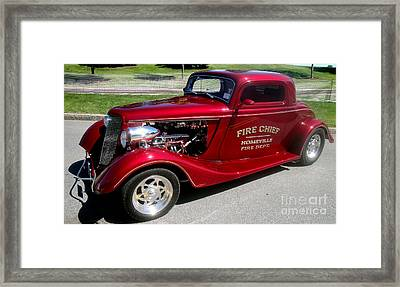 Hot Rod Chief Framed Print