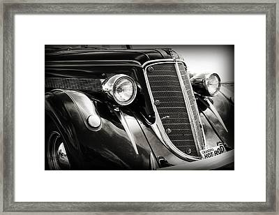 Hot Rod For Grandpa Framed Print